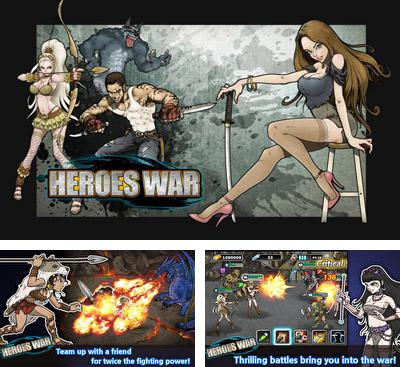 In addition to the game Space Ark THD for Android phones and tablets, you can also download Heroes War for free.