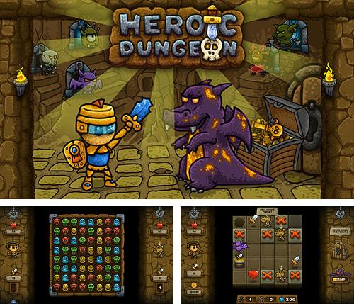 Heroic dungeon: Match 3