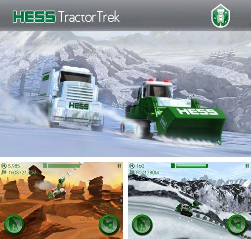 In addition to the game Tractor Farm Driver for Android phones and tablets, you can also download Hess: Tractor trek for free.