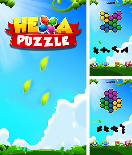In addition to the game Cube blast rescue toy block for Android phones and tablets, you can also download Hexa block puzzle for free.