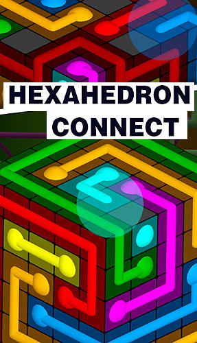 Hexahedron connect poster