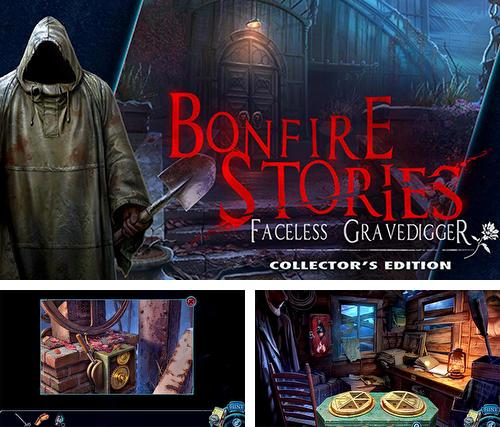 Hidden. Bonfire stories: Faceless gravedigger. Collector's edition
