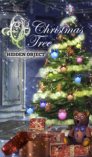 Hidden object: Christmas tree poster