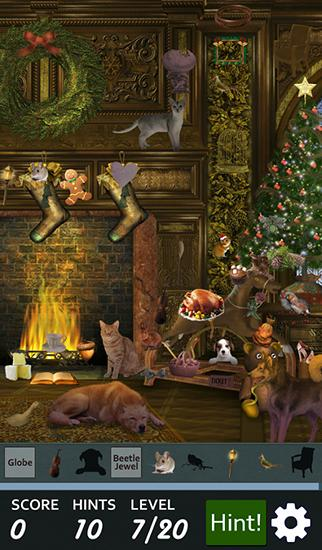 Hidden object: Christmas tree screenshot 1