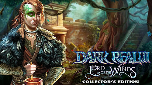 Hidden object. Dark realm: Lord of the winds. Collector's edition poster