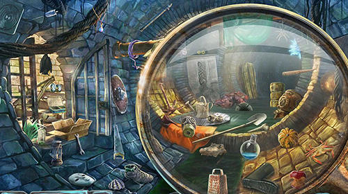 Screenshots von Hidden object games: Escape from prison für Android-Tablet, Smartphone.