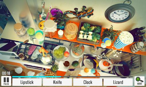 Hidden object: Messy kitchen screenshot 2