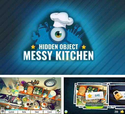 Кроме игры Chronicles of Scara: Dragons скачайте бесплатно Hidden object: Messy kitchen для Android телефона или планшета.