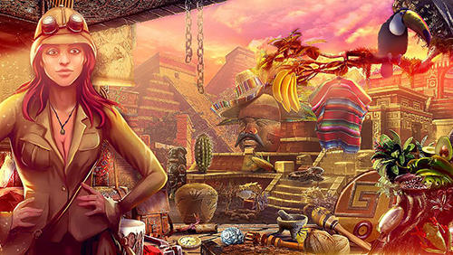 Hidden objects: Ancient city скриншот 2