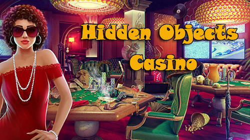 Hidden objects casino poster
