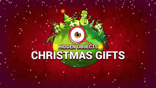 Hidden objects: Christmas gifts poster