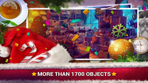 Screenshots von Hidden objects: Christmas gifts für Android-Tablet, Smartphone.