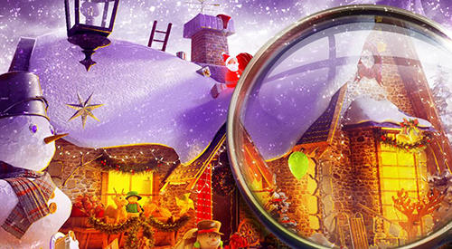 Kostenloses Android-Game Versteckte Objekte: Weihnachtliche Magie. Vollversion der Android-apk-App Hirschjäger: Die Hidden objects: Christmas magic für Tablets und Telefone.