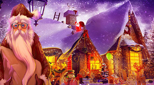 Screenshots von Hidden objects: Christmas magic für Android-Tablet, Smartphone.