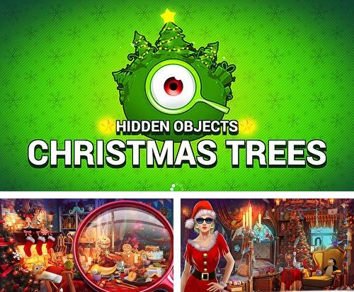 Hidden objects: Christmas trees