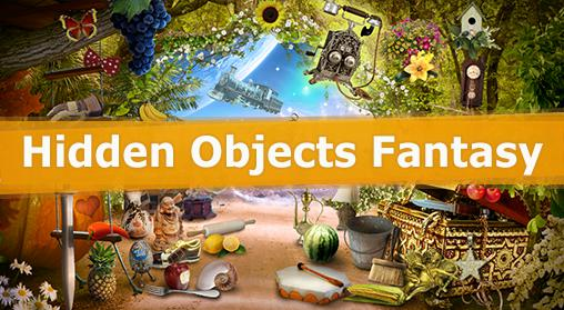Hidden objects: Fantasy обложка