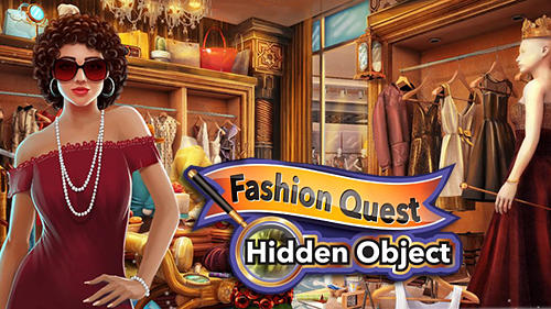Hidden objects: Fashion store poster