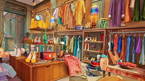 Hidden objects: Fashion store screenshot 1