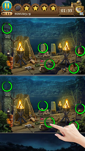 Hidden objects: Find the differences für Android spielen. Spiel Versteckte Objekte: Finde die Unterschiede kostenloser Download.