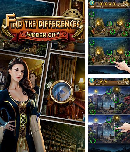 Hidden objects: Find the differences
