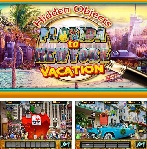 In addition to the game Bon Voyage Hidden Objects for Android phones and tablets, you can also download Hidden objects: Florida to New York vacation for free.