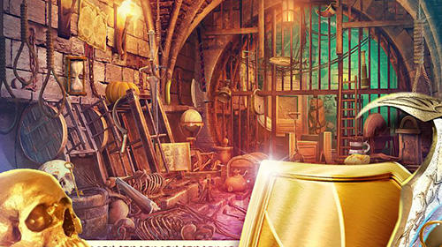Screenshots von Hidden objects haunted thrones: Find objects game für Android-Tablet, Smartphone.