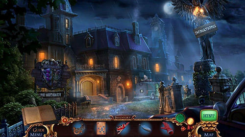 Kostenloses Android-Game Hidden Objects: Mystery-Fälle. Gebrochene Stunde. Vollversion der Android-apk-App Hirschjäger: Die Hidden objects: Mystery case files. Broken hour für Tablets und Telefone.
