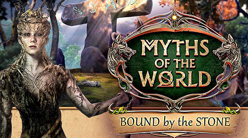 Hidden objects. Myths of the world: Bound by the stone. Collector's edition poster