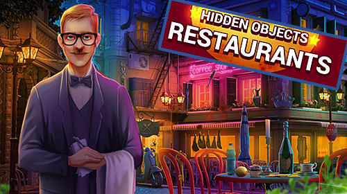Hidden objects restaurants poster