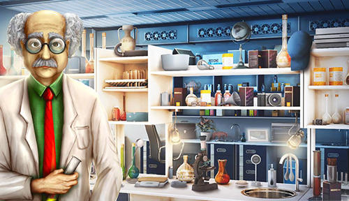 Screenshots von Hidden objects: Secret lab für Android-Tablet, Smartphone.