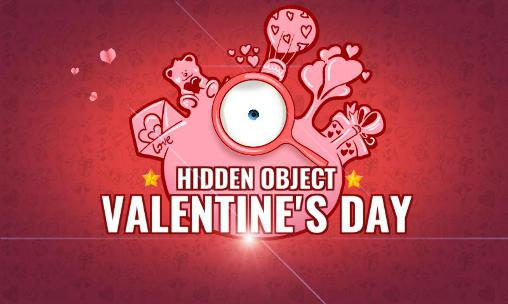 Hidden objects: St. Valentine's day poster
