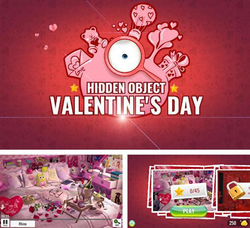 Hidden objects: St. Valentine's day