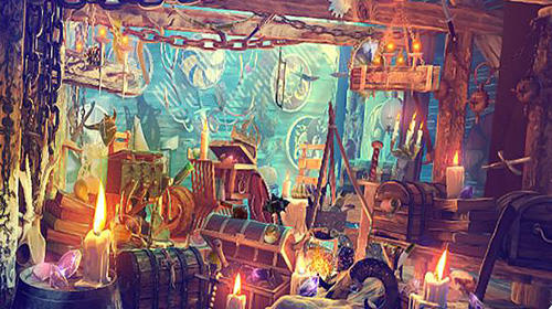 Kostenloses Android-Game Hidden Objects: Wikinger. Puzzlebild. Vollversion der Android-apk-App Hirschjäger: Die Hidden objects vikings: Picture puzzle viking game für Tablets und Telefone.