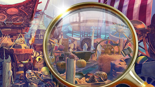Screenshots von Hidden objects vikings: Picture puzzle viking game für Android-Tablet, Smartphone.