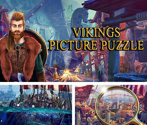 Hidden objects vikings: Picture puzzle viking game