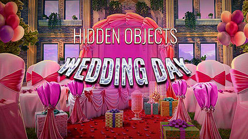 Hidden objects. Wedding day: Seek and find games