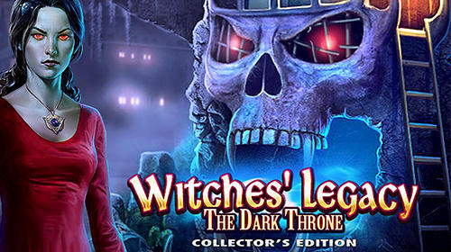 Hidden objects. Witches' legacy: The dark throne обложка