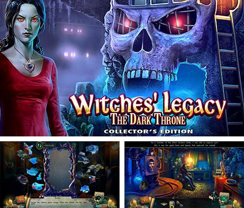 Hidden objects. Witches' legacy: The dark throne