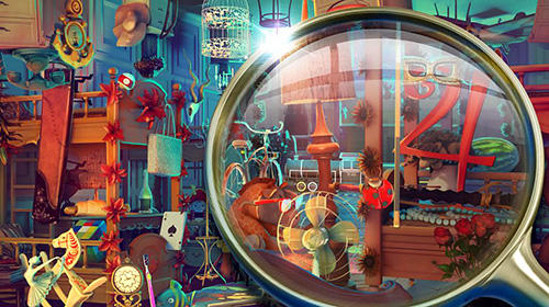 Screenshots von Hidden objects Wonderland: Fairy tale games für Android-Tablet, Smartphone.