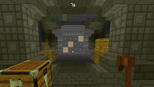 Screenshots von Hide and seek treasures Minecraft style für Android-Tablet, Smartphone.