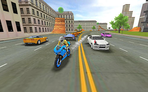 High ground sports bike simulator city jumper 2018 screenshot 2