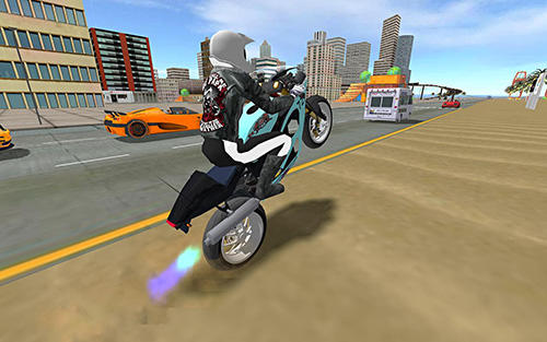 High ground sports bike simulator city jumper 2018 screenshot 3