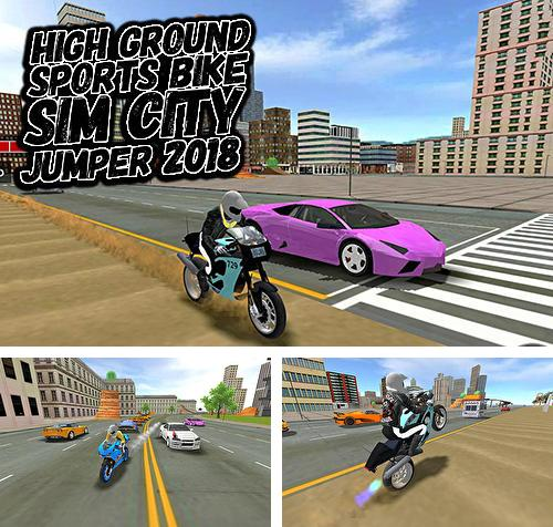 Zusätzlich zum Spiel Race Killer Zombie 3D 2018 für Android-Telefone und Tablets können Sie auch kostenlos High ground sports bike simulator city jumper 2018, High Ground Sportbike-Simulator: Stadtspringer 2018 herunterladen.