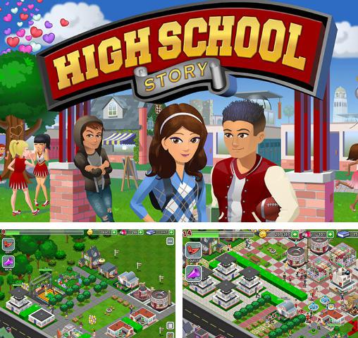 In addition to the game Virtual Families 2 for Android phones and tablets, you can also download High school story for free.