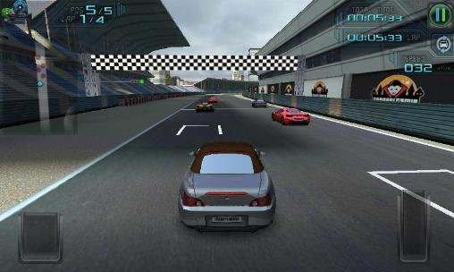 High speed 3D racing screenshot 3