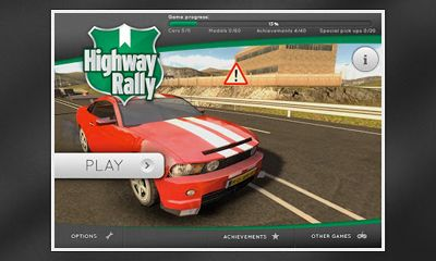 Highway Rally screenshot 1