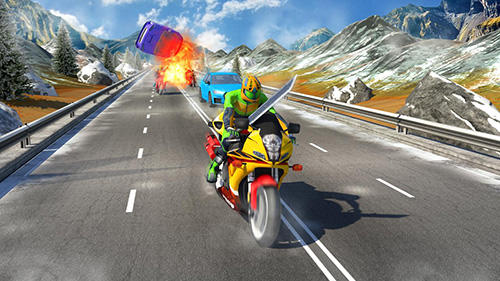 Highway redemption: Road race скриншот 2