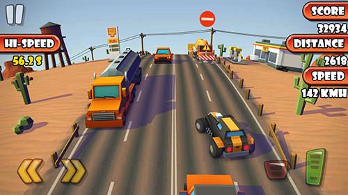 Highway traffic racer planet скриншот 2