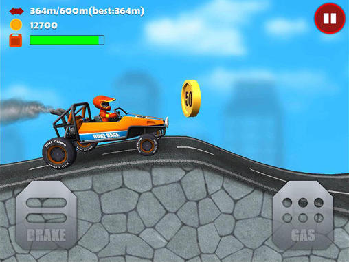 Screenshots von Hill climb 3D: Offroad racing für Android-Tablet, Smartphone.