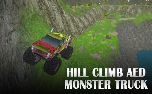 Hill climb AED monster truck обложка